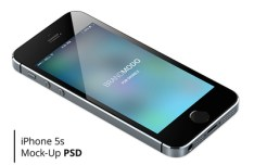 Glossy iPhone 5S Mockup