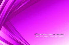 Bright Purple Waves Background Vector