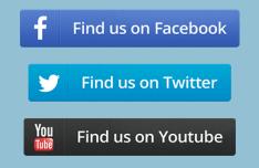Social Button Set PSD