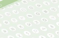 Global Network Social Icon Set (PSD+SVG)