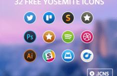 Yosemite Icon Set ICNS