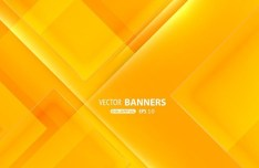 Orange Abstract Triangles Background Vector