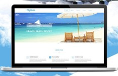 MyTour Travel Website PSD Template