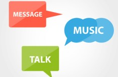 Flat Speech Bubbles Vector