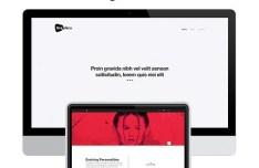 Graphica Website Template PSD