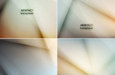 Abstract Radial Gradient Backgrounds Vector