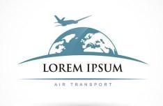Air Transport Logo Vector