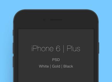 iPhone 6 & 6 Plus Templates PSD