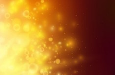 Yellow Light Spots Background Vector