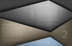 Elegant Abstract Infographic Background