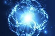 Blue Ball Lightning Vector 03