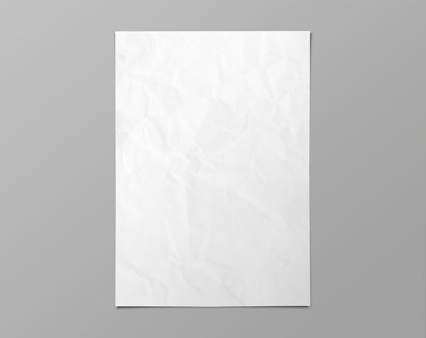 Free Blank Poster Mockup Template PSD - TitanUI