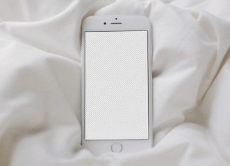 Blank iPhone 6 Mockups PSD