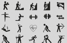 70 Sport For Life Icons PSD
