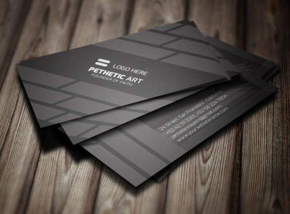 Free creative black business card template psd titanui creative black business card template psd reheart Choice Image