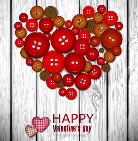 Creative Valentine's Day Heart Design Vector 03