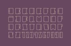 Linia Vector Typeface