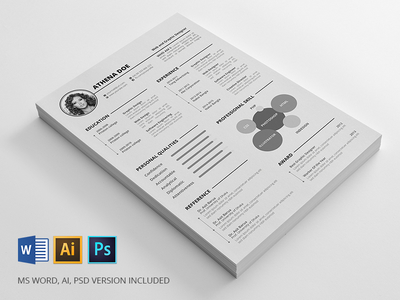 Print Ready Resumes Pack