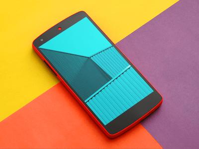 Awesome Nexus 5 Mockup PSD