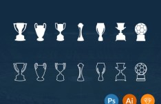 Football Trophies Pack
