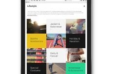 Lifeztyle Responsive Web Template PSD