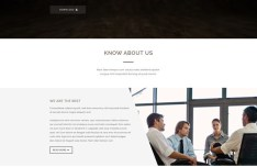 MAIRALA One Page Corporate Agency PSD Template