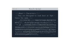 Mono16 Programming Font