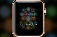 Apple Watch Icon Template Sketch