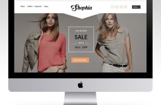 Shophia PSD eCommerce Template