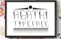 Agathi Vector Typeface