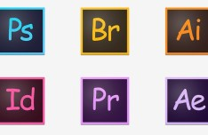 Comic Sans Adobe Application Icons