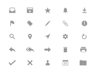 25 Vector Email Icons