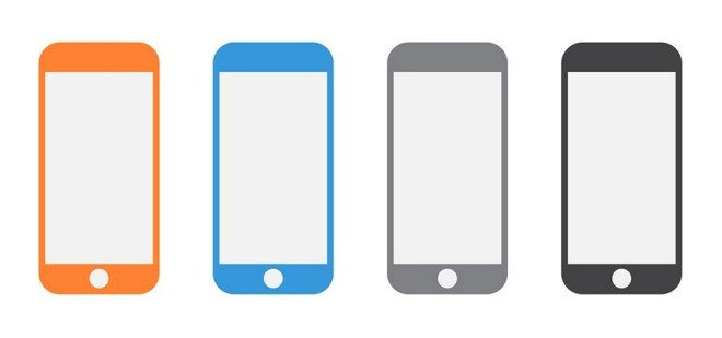 iPhone Vector Shapes