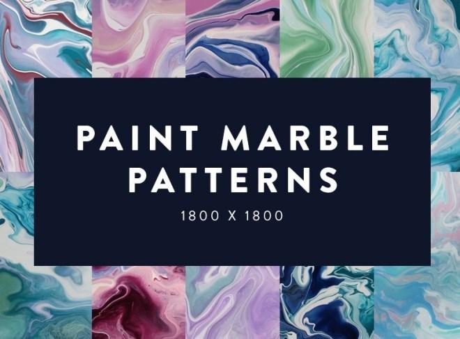 Paint Marble Patterns Set 01