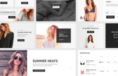 Fashion E-commerce UI Kit PSD