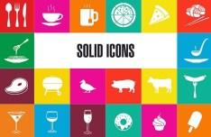 Food & Drink Icon Pack Vector