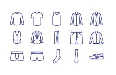 15 Vector Clothing Icons