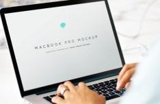 MacBook Pro 2015 Mockup PSD