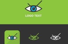 Eye Logo Template Vector
