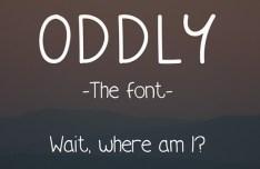 Oddly Font