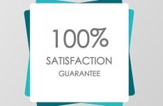 Satisfaction Guarantee Badge Template Sketch