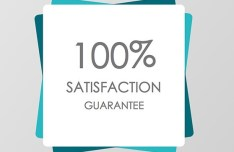 Satisfaction Guarantee Badge Template Sketch