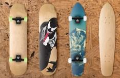 Realistic Skateboard Mockups PSD