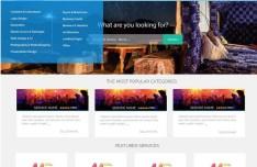 Online Marketplace PSD Template
