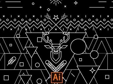Deer Vector Art