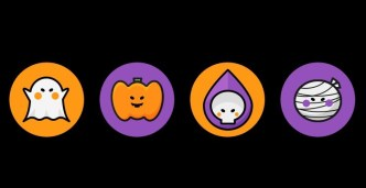 4 Cute Halloween Icons For Sketch