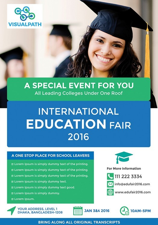 Education Flyer Templates Choice Image Template Design Free Download