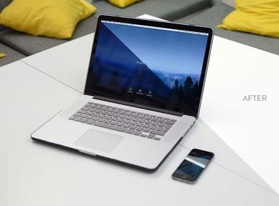 Macbook Pro 15 PSD Mockup