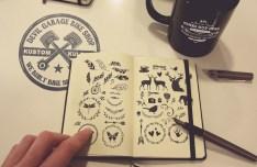 Photorealistic Notebook Mockup PSD