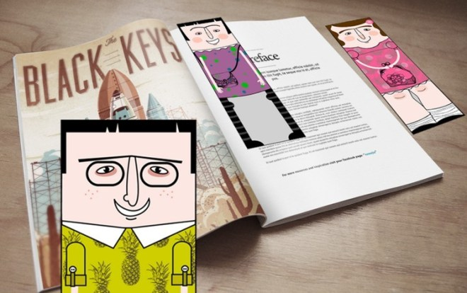 3 Vector Bookmark Templates